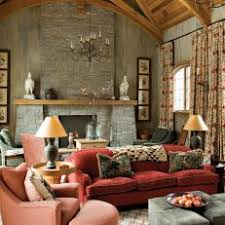 Old World Living Room With Cozy Charm