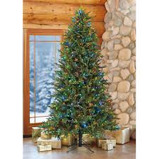12 Artificial Pre Lit LED Christmas Tree