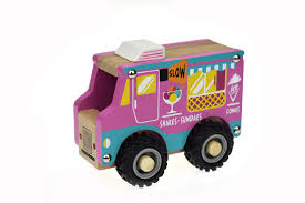 100 Toy Ice Cream Truck WT315F KD WOODEN ICE CREAM TRUCK
