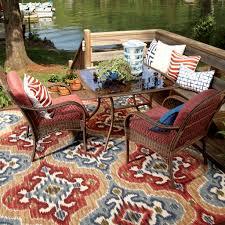Fleur De Lis Reversible Patio Mats by Indoor Outdoor Area Rug Oriental Style Indoor And Outdoor Rugs