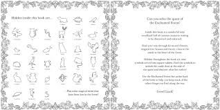 Buy Enchanted Forest An Inky Quest Coloring Book Online At Low Prices In India