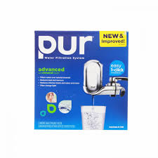Pur Faucet Water Filter Refill by Pur Fm 3700b Vertical Faucet Water Filter System Chrome