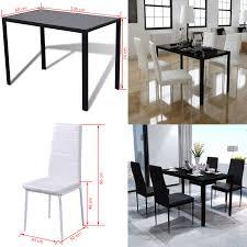 esstisch essststühle set tisch mit 4 stühle esszimmer küche