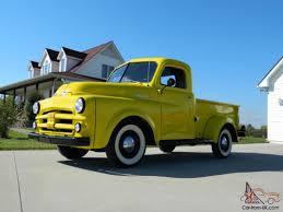 100 1952 Dodge Truck Null B3B HALF TON PICKUP