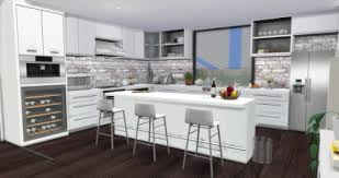 Modern Kitchen By AymiasSims For The Sims 4