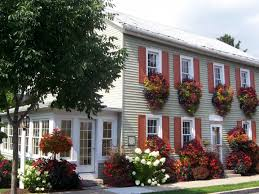 Lovely Houses With Window Flower Boxes