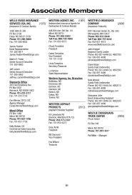100 Westlie Truck Center ACG Of North Dakota 2013 Membership Directory