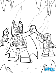 LEGO Batman And Joker Coloring Page