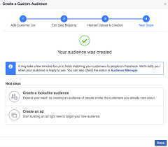 How We Built A Custom by How To Build A Facebook Custom Audience Using Multiple Data Types