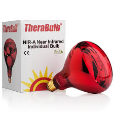 near infrared thermal light therapy light bulb 250 w