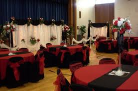 Red Black And White Wedding Ideas Decoration