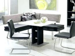 Modern Glass Dining Room Sets Kitchen Table With Storage Bench And Chairs Breakfast Nook Tables
