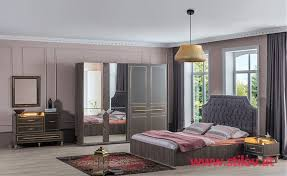 dunkel schlafzimmer set stilev möbel