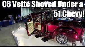 51 Chevrolet Pickup + C6 Corvette Chassis= The 'Vette Truck! - YouTube