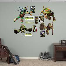fathead baby wall decor fathead mutant turtles collection