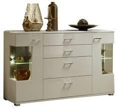 wohn concept alibaba sideboard 40 88 ww 21 moderne anrichte für ihr wohnzimmer oder esszimmer mit zwei türen mit glasausschnitten und vier schubkästen