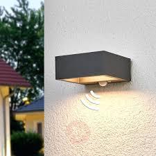 Modern Sensor Outdoor Lights