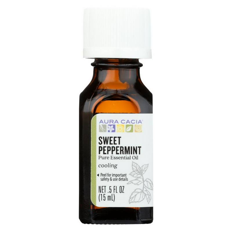 Sweet Peppermint Essential Oil Aura Cacia