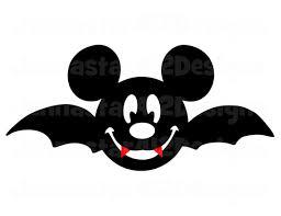 Mickey Mouse Vampire Pumpkin Stencil by Halloween Mickey Face Bat Diy Printable By Jennastar412designs