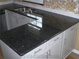Black Kitchen Sink India black pearl granite kitchen countertops india black granite