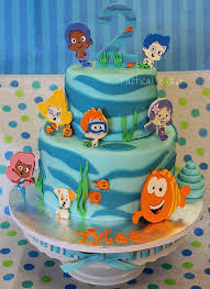 Bubble Guppies Cake Decorations by The 25 Best Bubble Guppies Birthday Cake Ideas On Pinterest