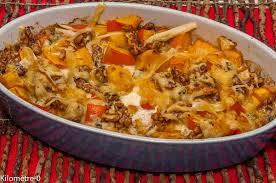 cuisiner les potimarrons gratin de potimarron aux noix et au fromage kilometre 0 fr