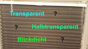 informationen tipps und tests blickdichte transparente
