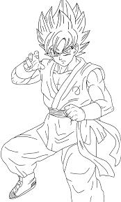 Imagenes De Goku Para Colorear Grandes Cialisguidebookcom