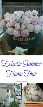 100 Eclectically Early Summer Home Tour