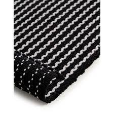 badematte bono schwarz weiß