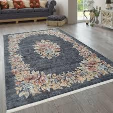 teppich wohnzimmer orient teppich floral