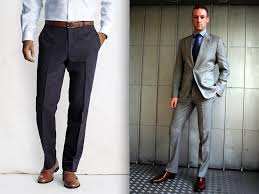 A Common Style Fallacy Is That Brown Shoes Work Best With Lighter Colored Suits Like Tan Light Gray Or Ivory Youll See Lots Of Men Wearing In
