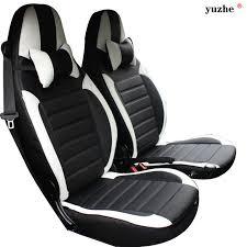 housse siege smart yuzhe housse de siège de voiture en cuir pour mercedes smart