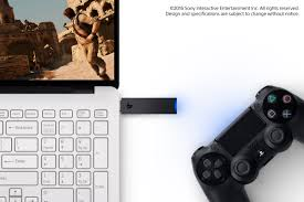 PlayStation Now for PC DualShock 4 Wireless USB Adapter Announced