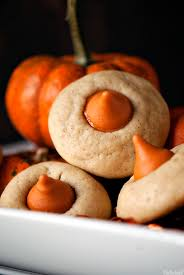 Pumpkin Spice Hershey Kisses Gluten Free by Chai Pumpkin Spice Thumbprints Recipe Spice Cookies Kiss And