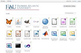Oit Help Desk Fau by Vmware Horizon Florida Atlantic University