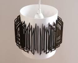 Laser Cut Lamp Shade by Mod Laser Cut Shape Drum Shade The 3 R U0027s Blog