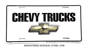 Chevy Trucks With Bowtie Emblem Novelty License Plate   Brandywine ... Rent Equipment Brandywine Trucks Maryland 2012 Mack Pinnacle Cxu612 Dump Truck For Sale 530698 1951 Ford F1 Gateway Classic Cars 341hou Sterling Dump For Sale Truck N Trailer Magazine Candy Painted Chevy Truck Youtube 1988 Chevrolet Silverado C1500 1 25 Scale Amt Ertl Promo Sale In Our Houston Texas Showroom Is A Cadillac Coupe De Ville On 26 Asantis V103 Car 2016 Bobcat E85 11421282 From 2017 Genie S65 In Machinytradercom