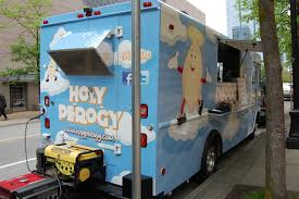 100 Vancouver Food Trucks Holy Perogy Truck Bits And Bites