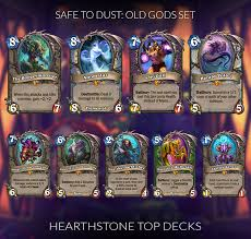 Warlock Deck Hearthstone August 2017 by Hearthstone Legendaries You Can Safely Disenchant Updated For