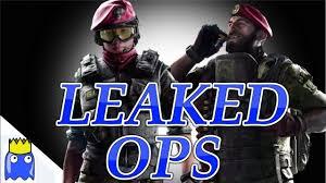 siege https rainbow six siege operators been leaked https