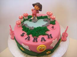 Pink Dora Cake 8 inch $195 • Temptation Cakes