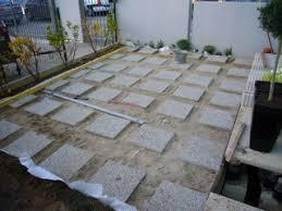 terrasse composite lames et lambourdes sur dallettes béton