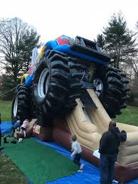 Monster Truck Bounce House Rental NY, NYC, NJ, CT, Long Island Monster Truck Bounce House Jump Houses Dallas Rental Austin Rentals Introducing The Combo Water Slide Houston Sky High Party The Patriot Inflatable Whiteford Contractor Equip Powered Dump Trailers 40 Container Bounce Houses Doral Comobo Disco Dome Bouncy Castle For Sale Trex Obstacle