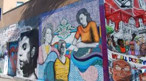 Clarion Alley Mural Project by San Francisco Street Art Tour Best Graffiti Collection