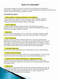 How To Do A Resume For Include College Courses Unique What Is Resumes