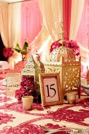 Magenta Table Settings Indian Weddings Wedding Ideas Decor Gold Image Centerpieces