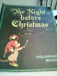 Vintage Christmas Coloring Books