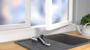 eyckhaus luca vorfenster küchenarmatur abnehmbarer wasserhahn für die küche 360 schwenkbereich schläuche klappbar mischbatterie ausziehbar chrom