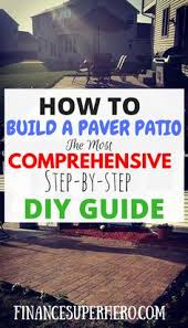 Paver Patio Ideas On A Budget by 30 Diy Patio Ideas On A Budget Diy Patio Patios And Budgeting